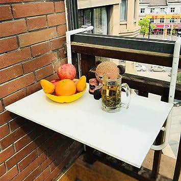 Ailj Etabli Rabattable Table Suspendue Reglable Pour Balcon