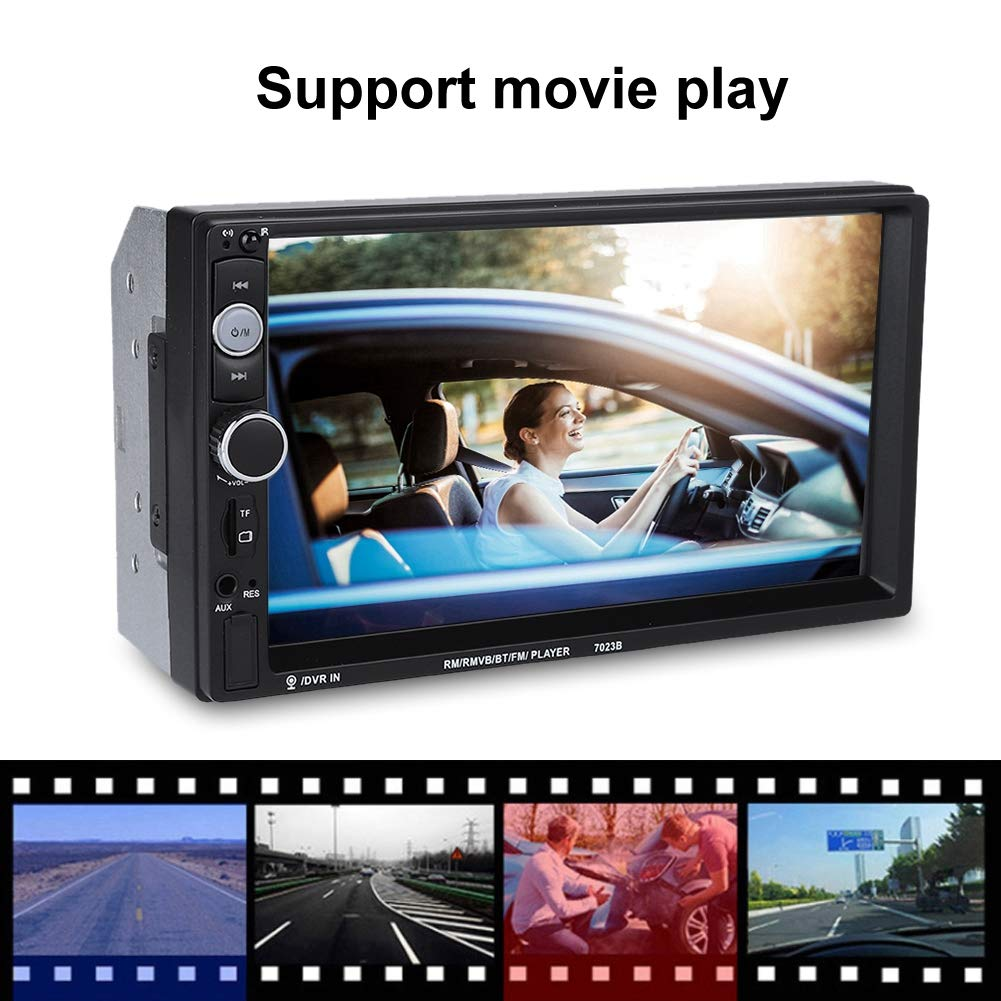 Car Multimedia Audio Radio Car MP5 Player 7inch Touch Screen Double Din Car BT MP5 Player Stereo FM Radio Support Reverse Image
