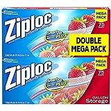 Ziploc Storage Bags Gallon Mega Pack, 150 Count