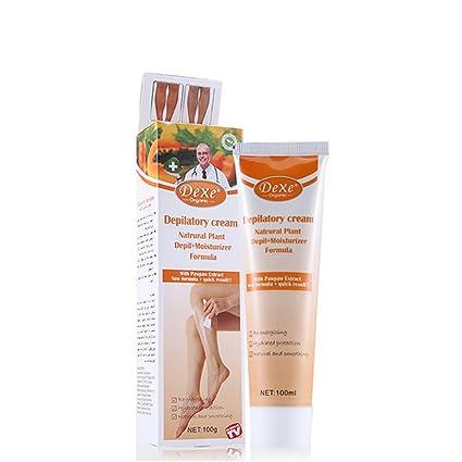 LanLan Crema Depilatoria de Todo Cuerpo, Cremas Depilatorias Orgánicas y Naturales para Mujeres y Hombres