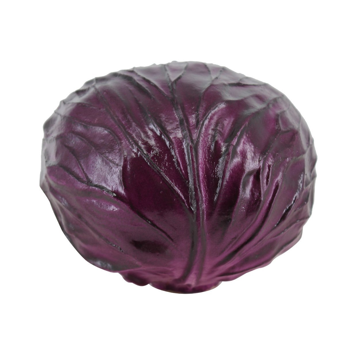 Lorigun PU Fake Red Cabbage Simulation Bubble Fruits & Vegetables Emotion Arrangement Scenes Props Simulation X 1Pcs Cabbage