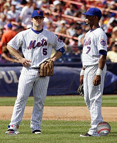 David Wright And Jose Reyes Photo 11 x 14in