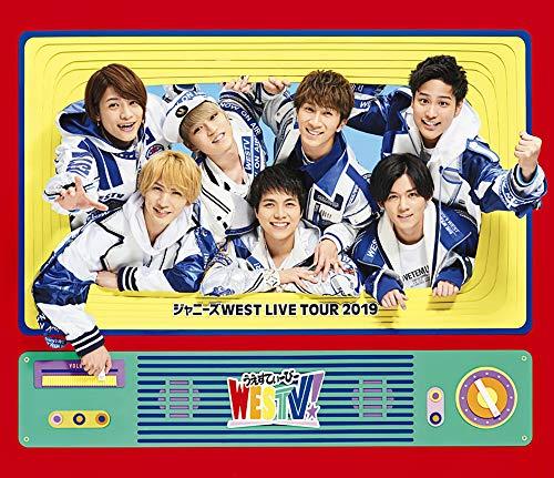 (2019年7月10日 발매예정 - 예약주문) 쟈니즈WEST LIVE TOUR 2019 WESTV! (Blu-ray통상 사양)