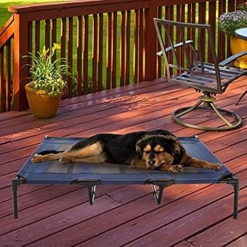 Amazon.com : Petsure Elevated Dog Bed - Medium Raised Dog