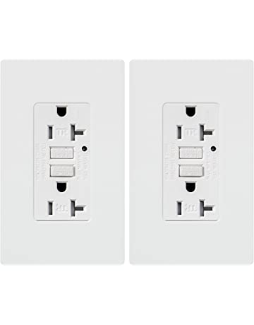Ground Fault Circuit Interrupter Outlets Amazoncom Electrical