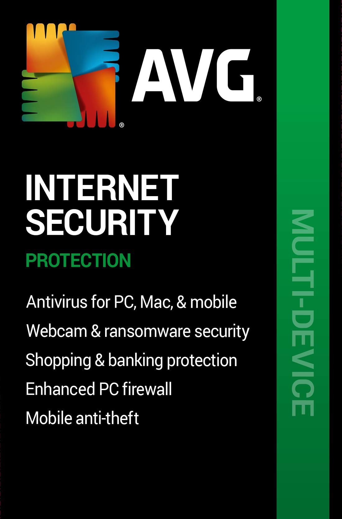 AVG Internet Security 2020 | 10 Devices, 2 Years [PC/Mac Online Code] by AVG