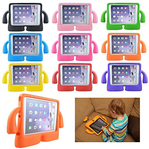 Lioeo iPad Mini Case for Kids iPad mini 4 Case with Handle Stand Shock Proof Cover Lightweight EVA Foam Protective Cases and Covers for Apple iPad Mini 4 3 2 1 7.9 inch (Hot Pink) by Lioeo (Image #8)