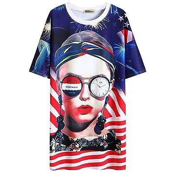 Long S T De Manches Shirt Mi Pour Femme amp;rl À Vache c3K1Tu5lJF