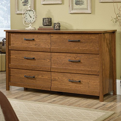 sauder bedroom furniture sauder cannery bridge 6 drawer dresser lavorist 13118