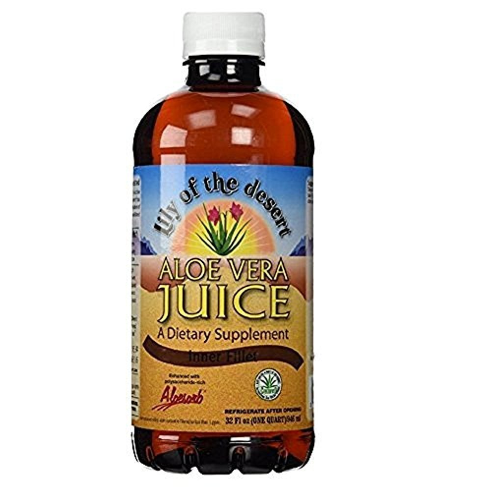 Lily of the Desert Aloe Vera Juice 32 oz Packs of 2