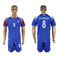 2018 Russia World Cup Iceland Home Men's Soccer Jersey