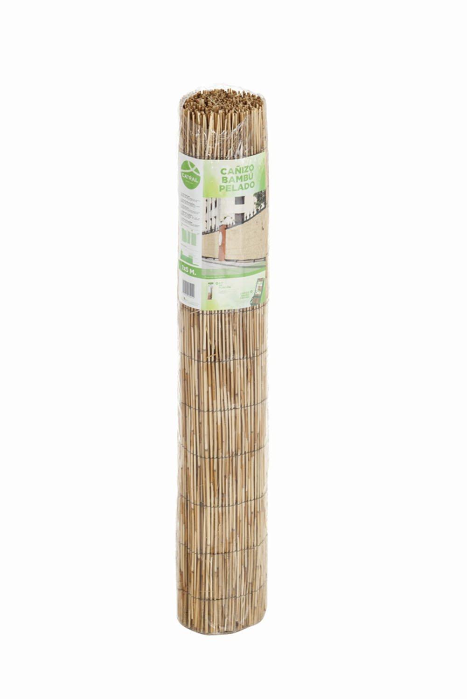Bambú Natural Pelado Tejido