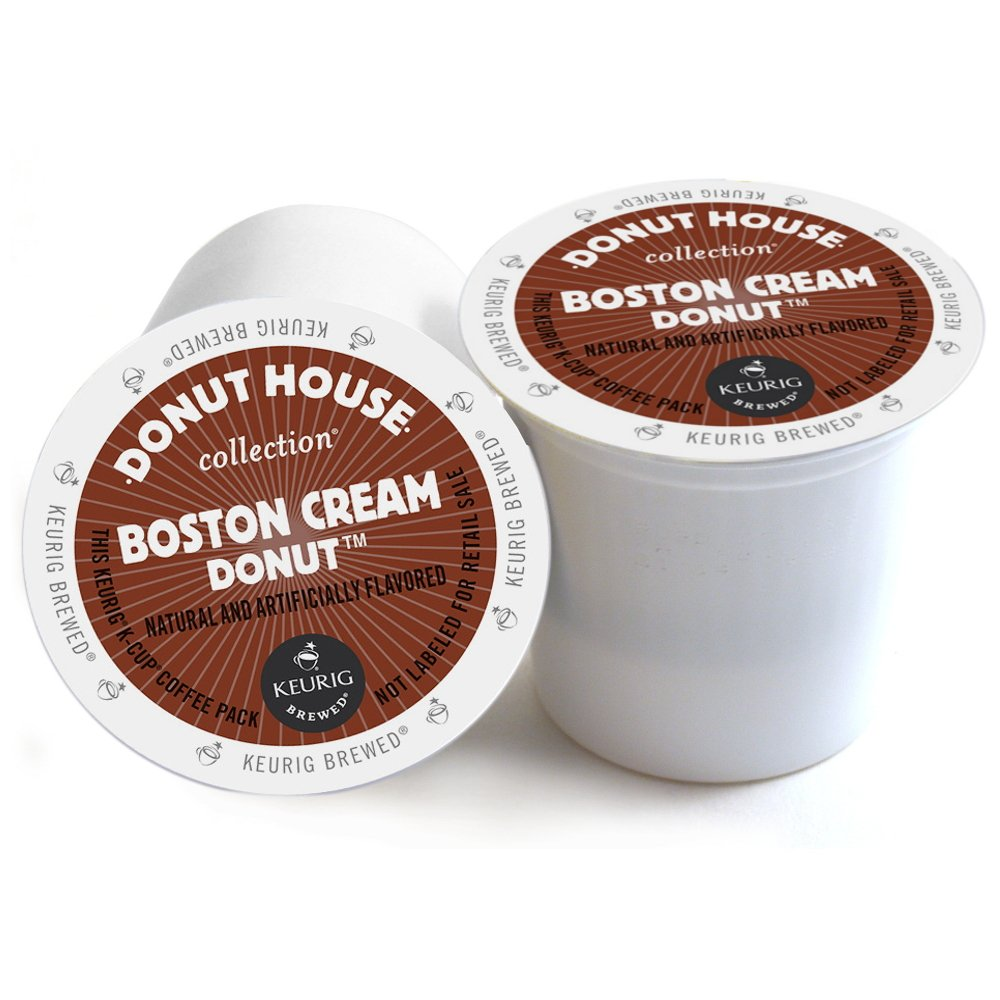 Donut House Boston Cream Donut Keurig 2.0 K-Cup Pack, 180 Count