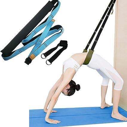 JJunLiM Yoga Ballet Leg Stretching Strap Back Bend Assist ...