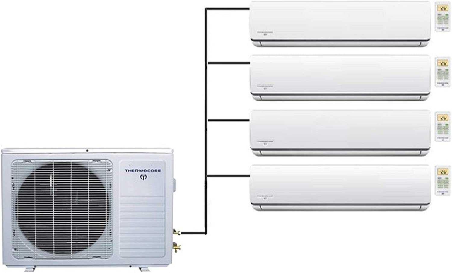 Thermocore T323D-H248 9x3+18 9000 x 3 + 18000, Large, White