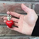 Mace Brand Personal Alarm Heart on Key Ring, Pull