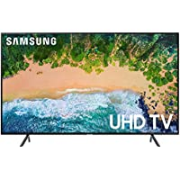 Samsung 43NU7100 43 NU7100 Smart 4K UHD TV (2018) with Surge Protector + Cleaning Kit (UN43NU7100)