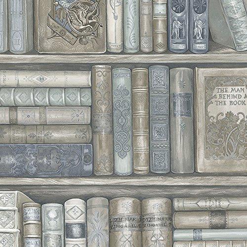 Norwall Kitchen (Norwall LL36203 Bookcase Wallpaper)