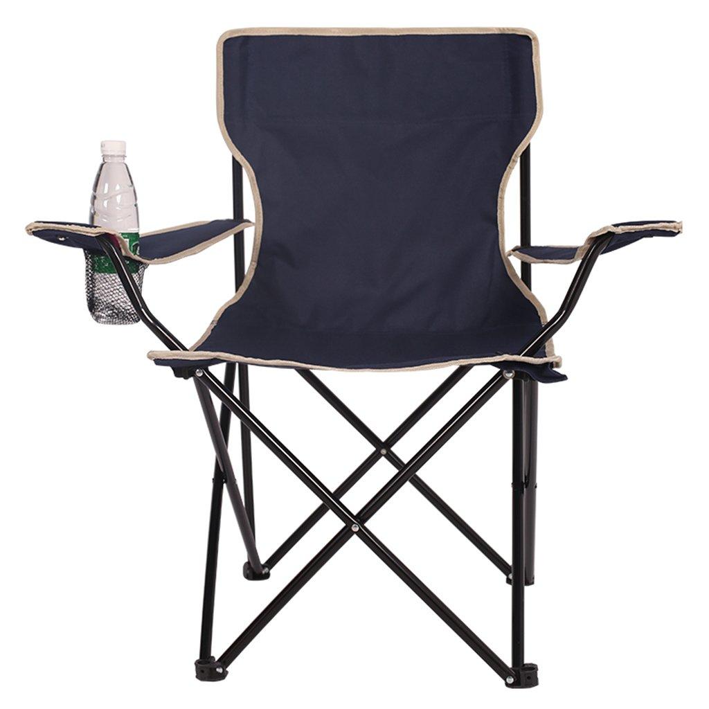 Silla de camping plegable ligera y durable Asiento de azul ...