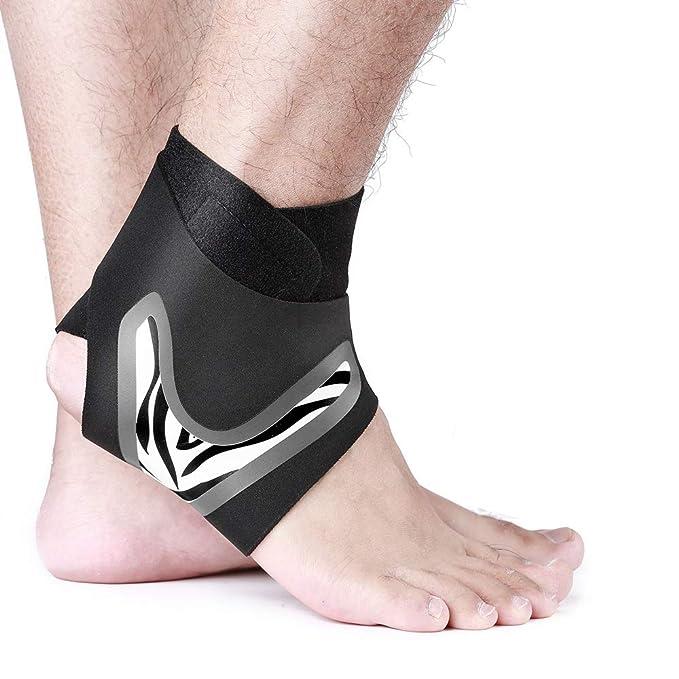 XINJIA - Tobillera Ajustable con Soporte para el tendón de Aquiles ...
