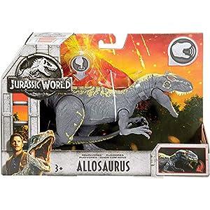Mattel Jurassic World Roarivores Allosaurus Action Figure