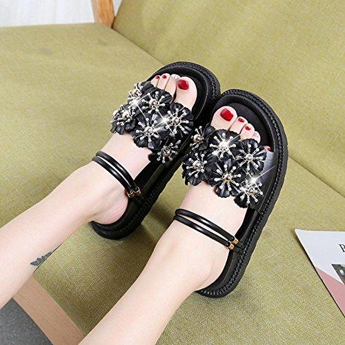 7cfc5b439 50% de descuento Venmo Sandalias Mujer Verano Chanclas Zapatilla Zapatos  Mujer Verano Zapatilla Sandalias de
