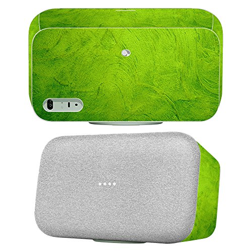 Skin for Google Home Max - Green Cement| MightySkins Protective, Durable, and Unique Vinyl Decal wrap cover | Easy To Apply, Remove, and Change Styles | Made in the - Google Disneyland