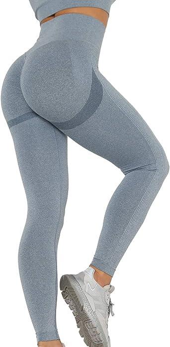 Ooh La Leggings pour Femme-Super Doux-Taille unique Gris