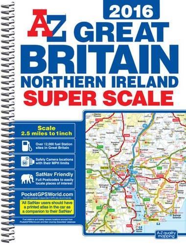 Great Britain Super Scale Road Atlas ebook