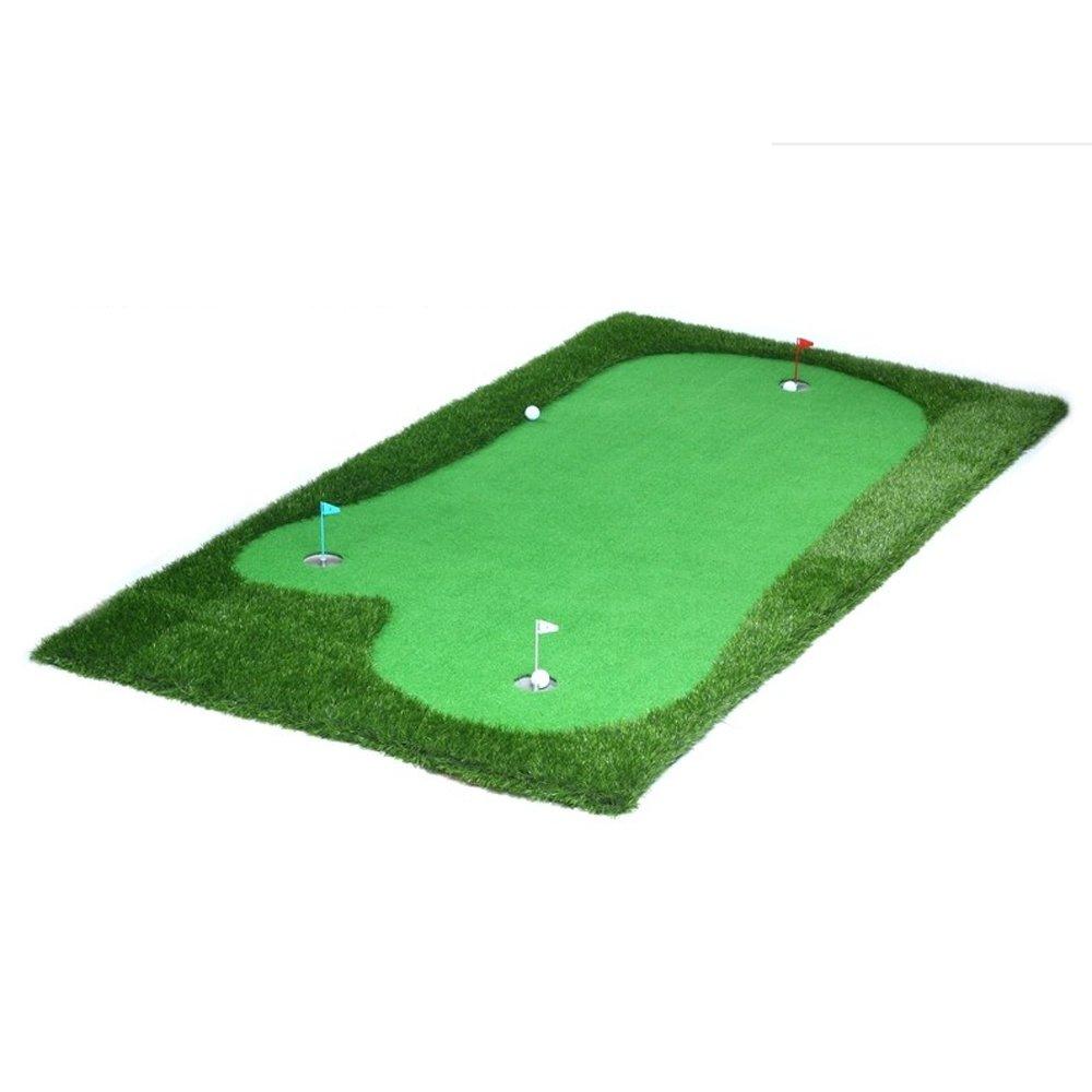 TLMY ゴルフ人工緑ポータブル練習毛布屋内パッティング練習ミニ ゴルフマット (色 : 薄いです, サイズ さいず : 2 * 4M) 2*4M 薄いです B07GP67942
