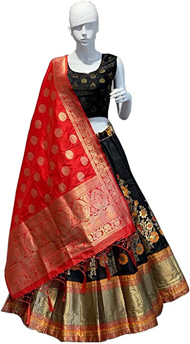 Wedding wear Lehenga Designer Indian Latest pure silk lengha choli set readymade