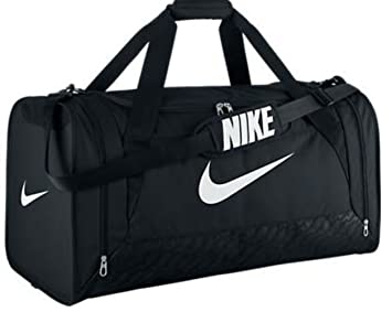 40b59b9abc New Nike Brasilia 6 Large Duffel Bag Black Black White by Nike ...
