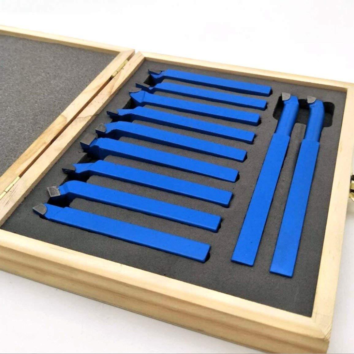 11pcs carburo punta punta taglierina strumento taglio set per metallo tornio utensili fghfhfgjdfj