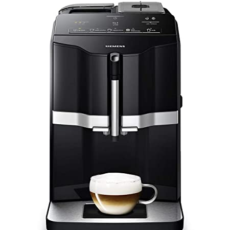 Siemens TI351209RW Cafetera Espresso Superautomática 1300 W, 1.4 litros, Plástico, Negro