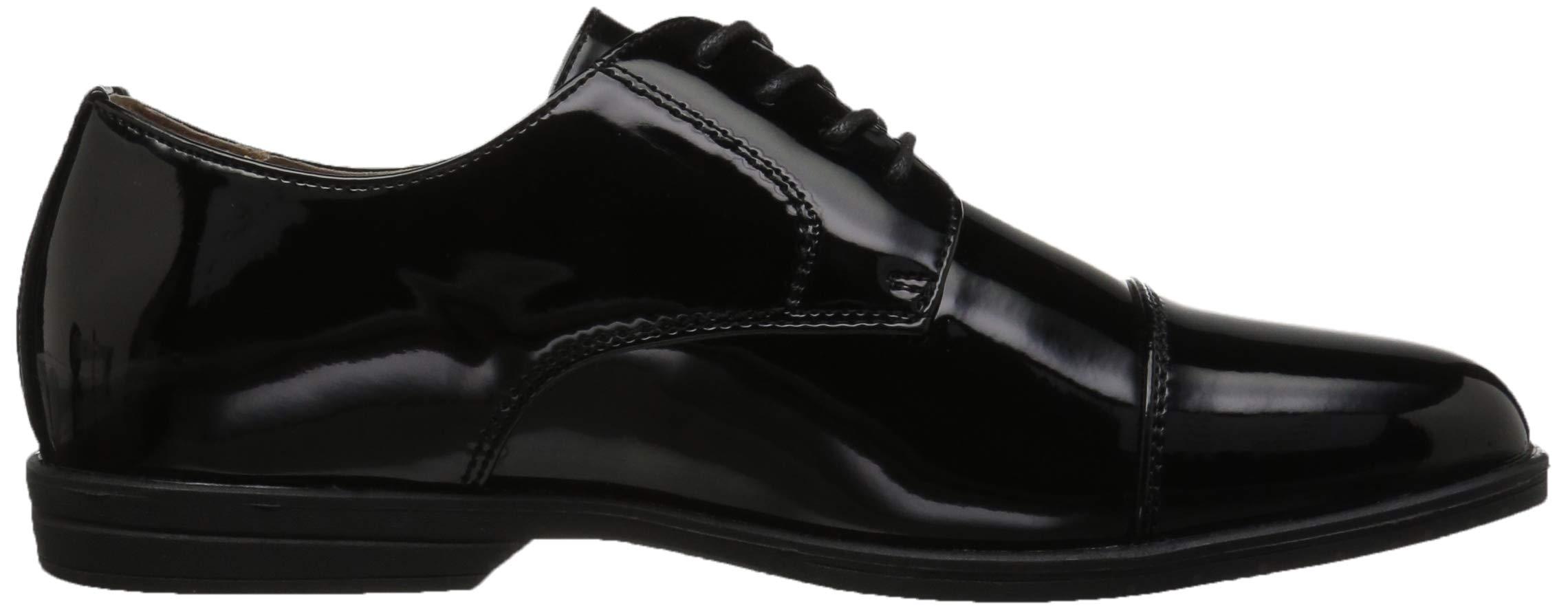 Florsheim Kids Boys' Reveal Tuxedo Formal Cap Toe Oxford Jr, Black Patent, 1.5 Medium Little Kid by Florsheim (Image #7)