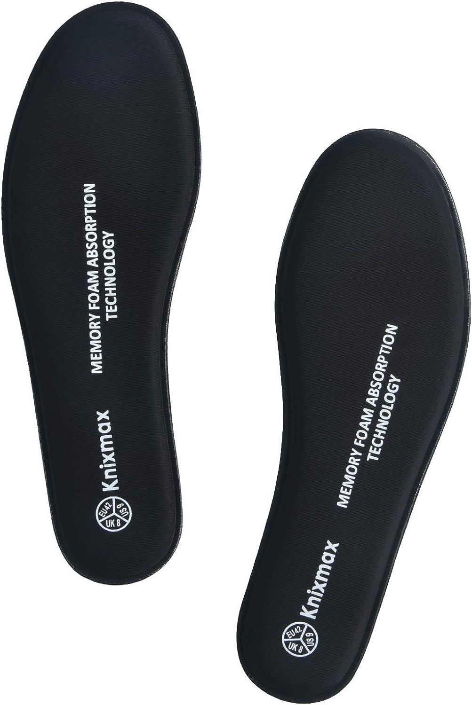 Plantillas Knixmax Plantillas Memory Foam Para Zapatos De Mujer Plantillas Confort Amortiguadoras Cómodas Y Flexibles Para Trabajo Deportes Senderismo Caminar Zapatos Y Complementos Aceautocare Net