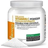 Non Acidic Vitamin C Powder Sodium Ascorbate Non GMO Soluble Fine Crystals - Healthy Immune System, Antioxidant and Cell Protection - 1 Kilogram (2.2 lbs, 35.3 Ounces)