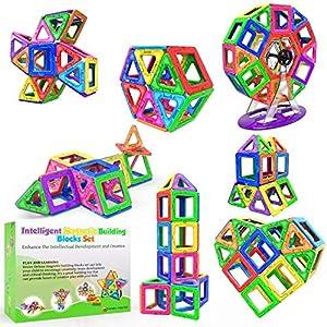 Blocs de Construction Magnétiques – Cadeaux de Luxe pour Les Enfants – Blocs de constructions aimantés – Jeux pour…