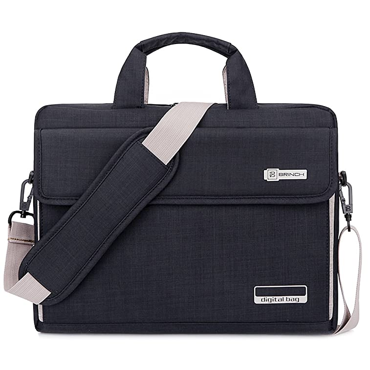 96ba1c4fc18d Brinch Unisex Oxford Laptop Sleeve Messenger Shoulder Bag for 15 -  15.6-Inch Laptop   Notebook   MacBook   Ultrabook   Chromebook