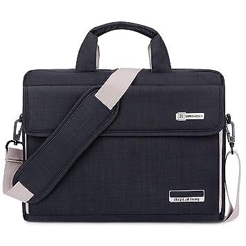 Amazon.com: Brinch Unisex 13-Inch Laptop Messenger Bag for Apple ...