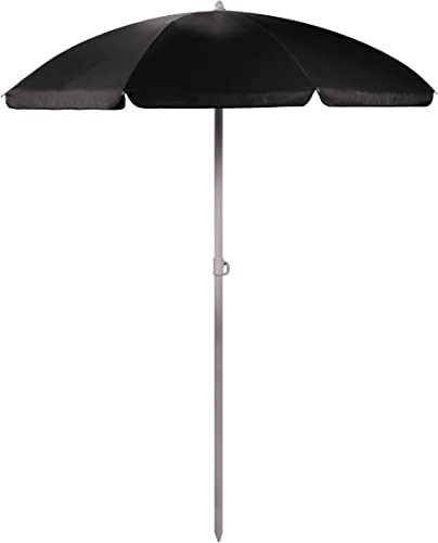 ONIVA – a Picnic Time Brand Outdoor Canopy Sunshade Umbrella 5.5 , Black