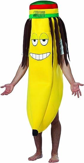 Generique - Disfraz plátano Rasta Adulto Talla única: Amazon.es ...