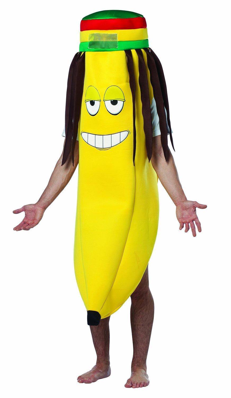 Disfraz plátano rasta adulto Única: Amazon.es: Juguetes y juegos