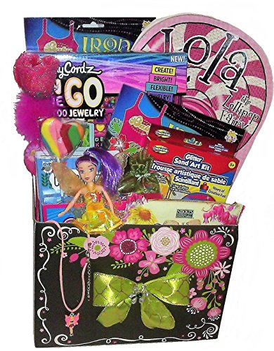 Arts and Crafts Girls Gift Basket (Girls 5 and Up)