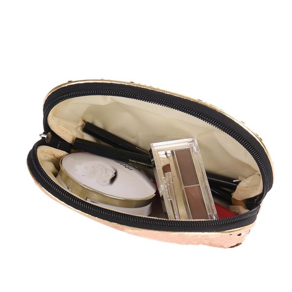 YJYdada - Estuche de lentejuelas para cosméticos, monedas ...