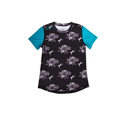 Sombrio Slice   Dice Jersey - Short Sleeve - Women s Black Floral ... 05c2e7a97