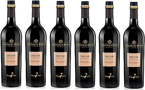 Oferta amazon: Nectar P.X. - Vino Dulce D.O. Jerez - 6 Botellas x 750 ml - Total: 4500 ml