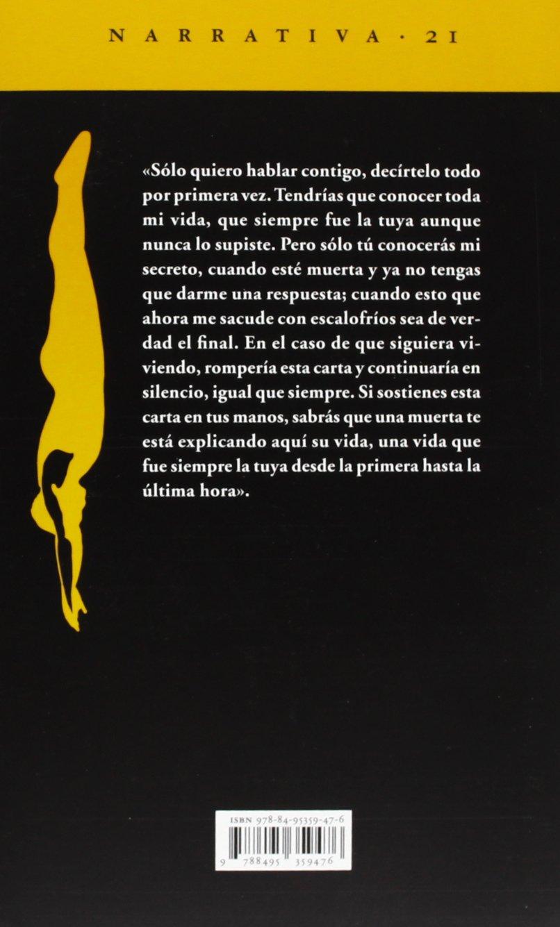 Carta de una desconocida (Narrativa del Acantilado): Amazon ...