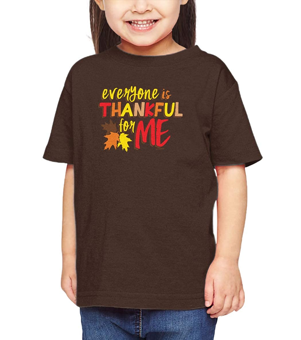 Funny Cute Infant//Toddler Cotton Jersey T-Shirt Haase Unlimited Everyone is Thankful for Me