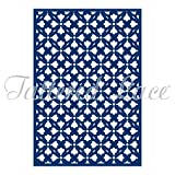 Tattered Lace Essentials Floral Lattice Panel Background Cutting Die ETL62